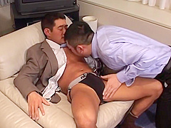 Japanese Mature Suit Man And Boss